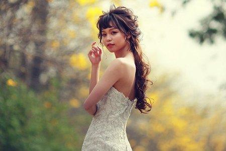 新娘秘書~短髮新娘造型