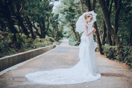 婚紗拍樣--Tina