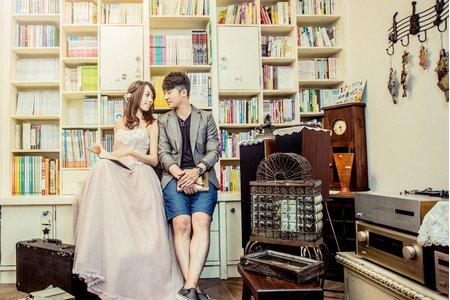 弘霈 + 芷瑋 韓式風格婚紗