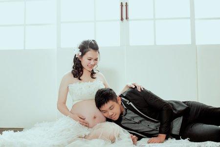 孟琪 1+1 孕媽咪