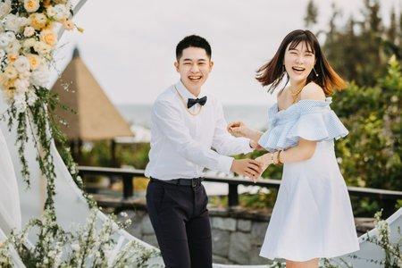 海南島戶外婚禮