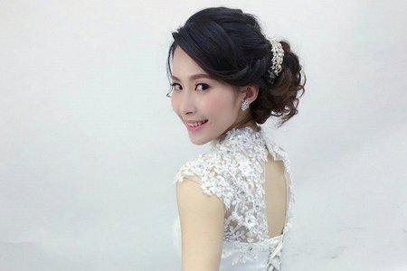 【彰化新娘秘書推薦】2016.05.30雅菁-白紗-甜美風格-台中