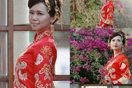 【彰化新娘秘書推薦】2018.01.21中式旗袍造型-線西