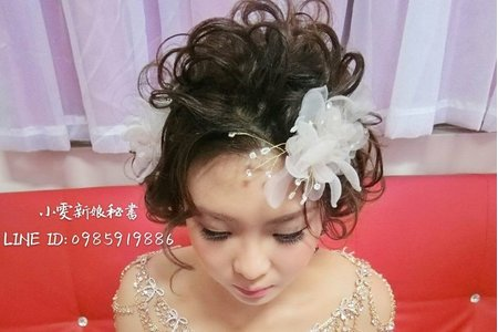 【彰化新娘秘書推薦】2017.12.01短髮線條感造型-鹿港