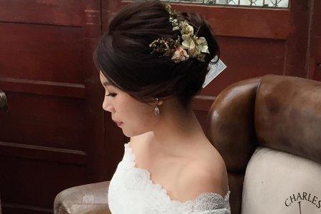 新人小涵 - 外拍婚紗造型紀錄