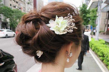 日本新人亞紀子 - 外拍婚紗造型紀錄