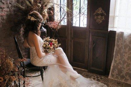 新人立潔 - 外拍婚紗造型紀錄