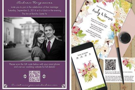 婚禮創意QR Code設計