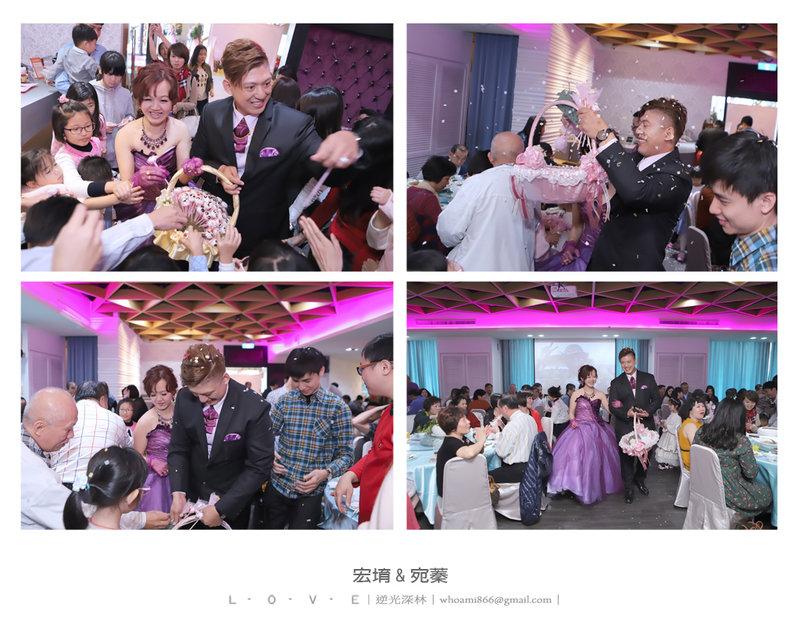 【逆光深林】婚禮攝影-單宴客作品