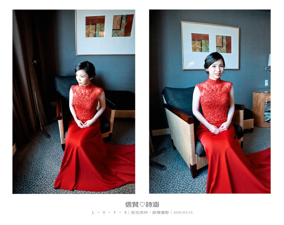 041 - 【逆光深林】婚禮攝影《結婚吧》