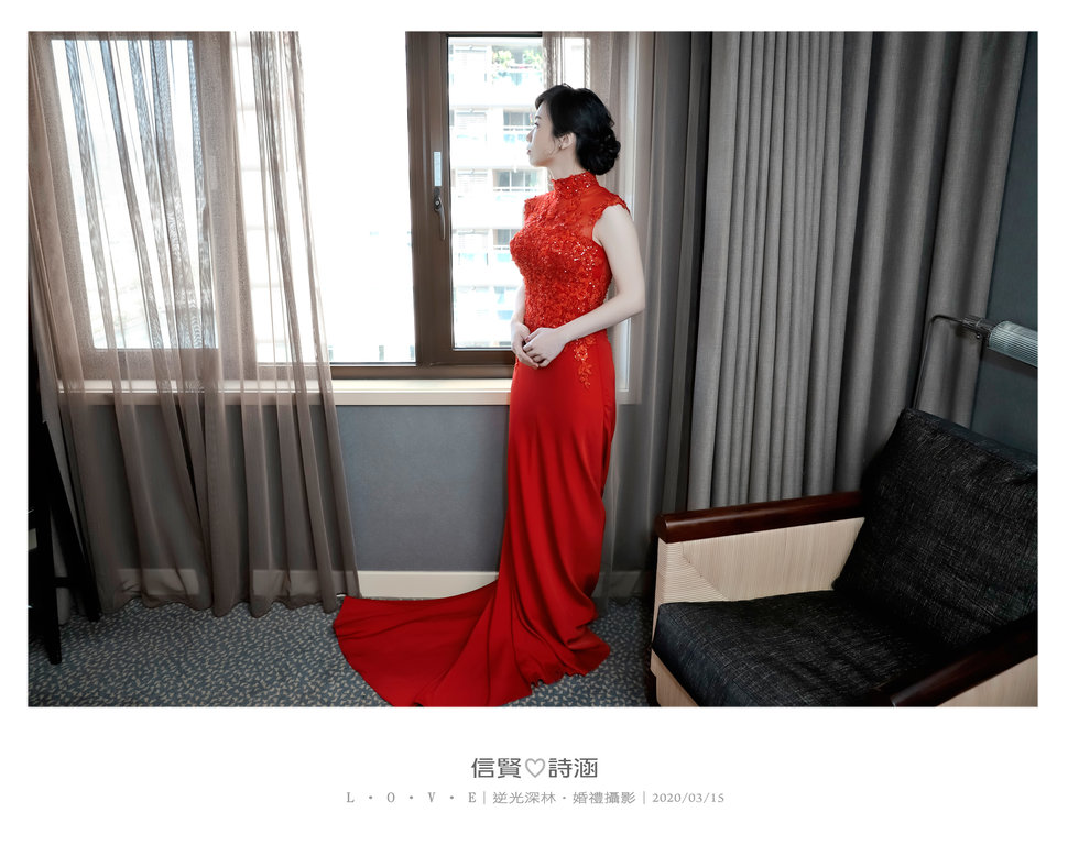 044 - 【逆光深林】婚禮攝影《結婚吧》