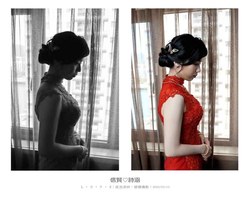 118 - 【逆光深林】婚禮攝影《結婚吧》
