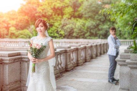 夢幻新娘婚紗照-噴槍底妝