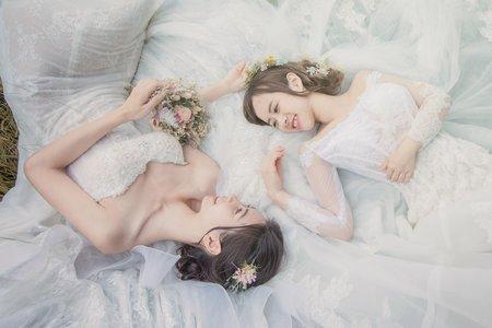浪漫閨蜜婚紗