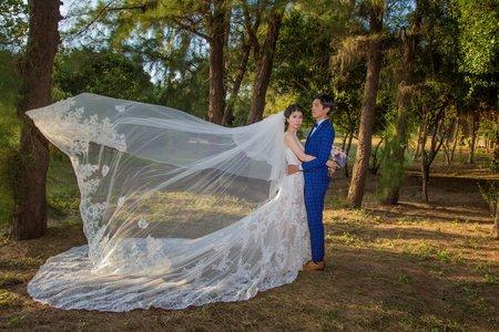 森林夢幻婚紗