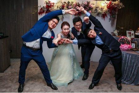 婚禮紀錄-迎娶+晚宴-福華飯店