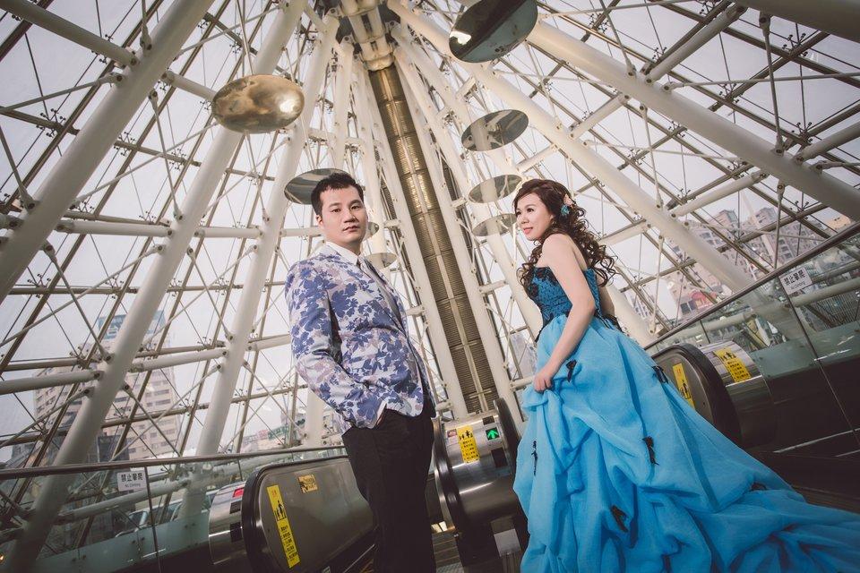 伊頓自助婚紗攝影工作室(台北西門店),伊頓為我打造的婚紗