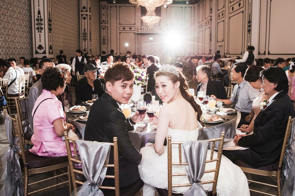 彭園婚宴會館-八德館,感謝八德彭園完成我的公主夢❤️