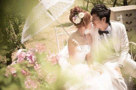 公主部屋自助婚紗照