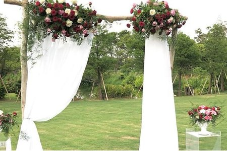 各式拱門及戶外證婚佈置