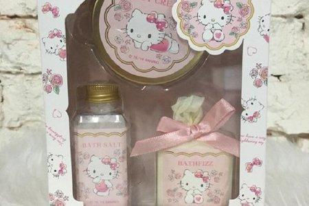 KT-百花香  沐浴禮盒3入組