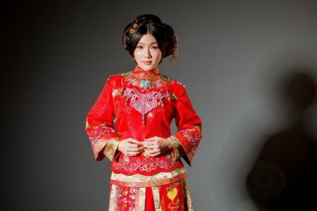 [彩雲吉祥]-中式禮服訂製&秀禾服出租