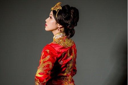 [摯子之手]-中式禮服訂製&秀禾服出租