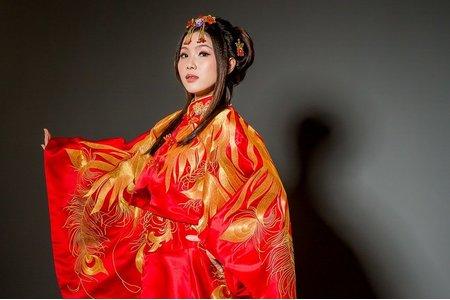 [古典與現代]-中式禮服訂製&秀禾服出租