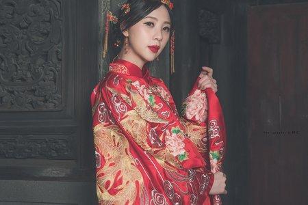 [連枝相依]-中式禮服訂製&秀禾服出租