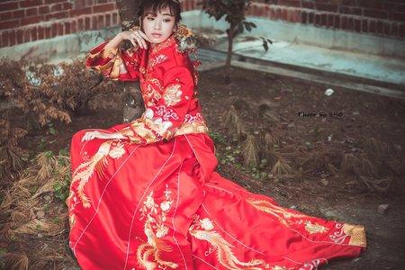 [蘭菊庭芳]-中式禮服訂製&秀禾服出租