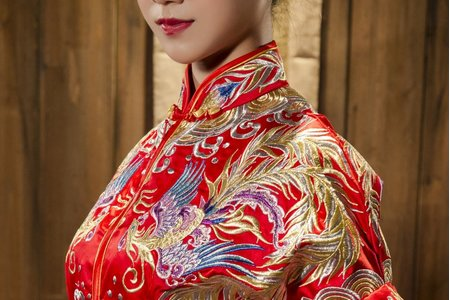秀鳳中式婚紗禮服