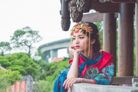 秀鳳中式婚紗單拍方案 (拍照服2套組)