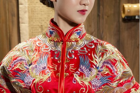 秀鳳中式婚紗禮服套裝方案 (宴客服2套組
