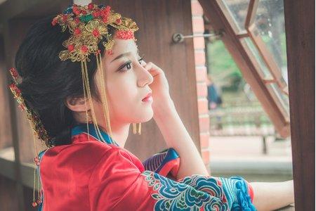 秀鳳中式婚紗禮服方案 拍照服+宴客服