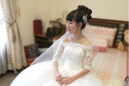 花嫁少女結婚三造型【午宴】
