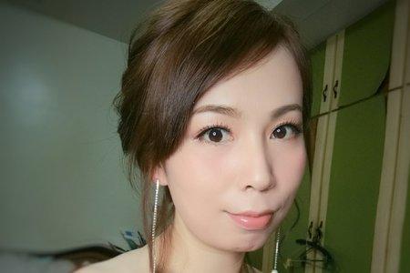 Ann 文訂新娘造型 亮麗登場