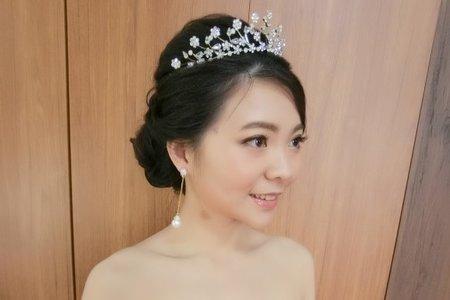 幸福少女文定/結婚 新娘二造型【午宴】