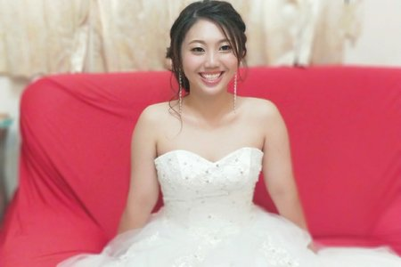 台中太平的氣質名媛新娘造型