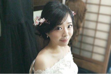 幸福新娘花系列造型~甜美