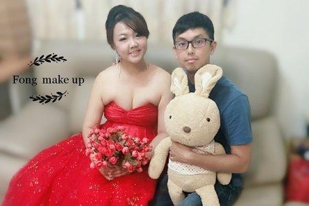 台中新娘秘書小鳳Fong-MIN新娘試妝