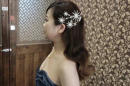 台中新娘秘書小鳳Fong-婷婷送客新娘造型