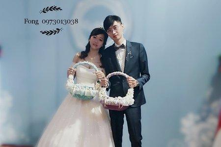 台中新娘秘書小鳳Fong-愛麗絲甜美送客造型