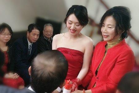 台中新娘秘書小鳳Fong-清水新娘文定造型