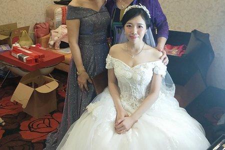 台中新娘秘書小鳳Fong-甜美白紗結婚典禮開始
