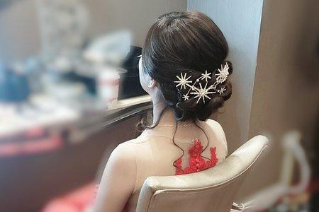 台中新娘秘書小鳳Fong-婷文定儀式新娘造型