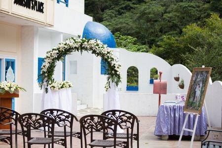 希臘婚禮區