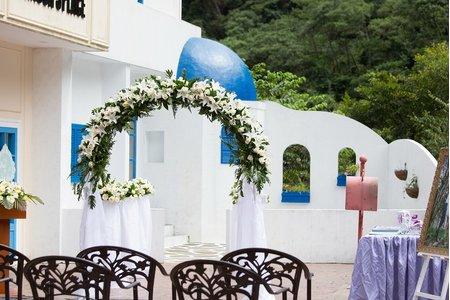 希臘婚禮(戶外帳篷婚宴)