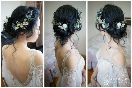 戶外婚禮-仙仙風「黑髮也可以很有線條」