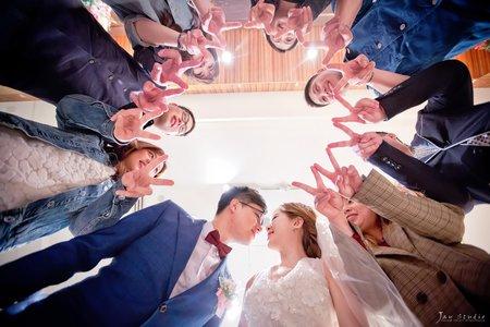 圻&潔結婚