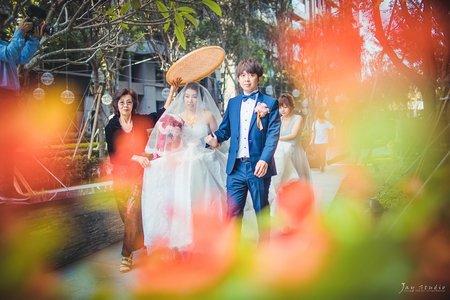 政煒&芸芳結婚